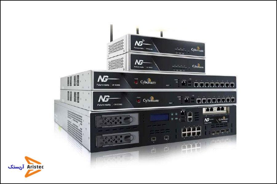 نمونه از تجهیزات امنیت شبکه - آریستک